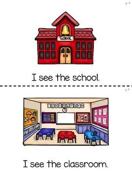 Kindergarten Back to School Little Reader & More