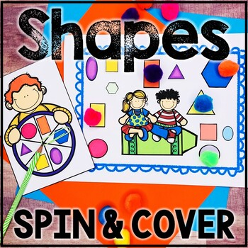 Kindergarten Back to School Math Center - Beginning of the Year - Shapes
