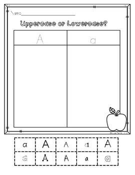 Kindergarten Worksheets - Back to School