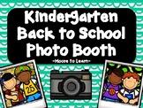 Kindergarten Back to School Photo Booth 2019