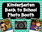 Kindergarten Back to School Photo Booth 2020 with PROPS
