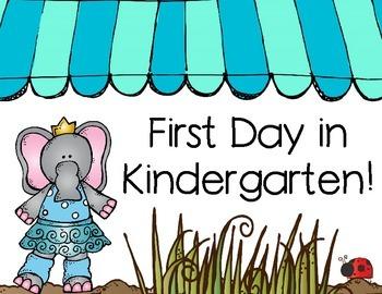 Kindergarten Back to School Set