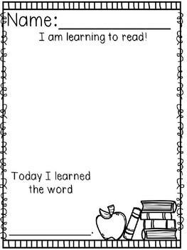 Kindergarten Back to School Writing -Beginning of the Year Writing Workshop