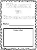 Kindergarten Back to School Writing and Fun Pack NO PREP