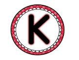 Kindergarten Banner (Polka Dots)