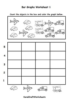 Kindergarten Bar Graph Worksheet 1