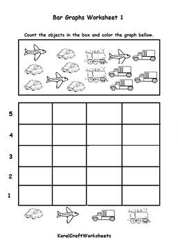Kindergarten Bar Graph Worksheets & Teaching Resources | TpT