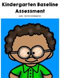 Kindergarten Baseline Assessment
