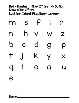 Kindergarten Baseline Assessments