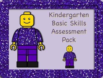 Kindergarten Basic Skills Assessment Pack - Back to School