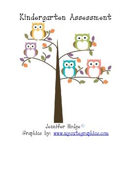 Kindergarten Basic Skills Check Sheet