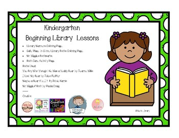 Kindergarten Beginning Library Lesson Unit