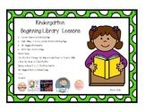 Kindergarten Beginning Library Lesson Unit