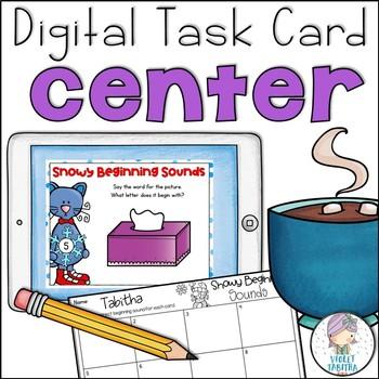 Kindergarten Beginning Sound Digital Center
