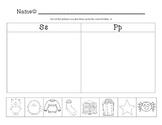 Kindergarten Beginning Sound Sort 2