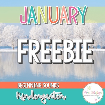 Kindergarten Beginning Sounds FREEBIE