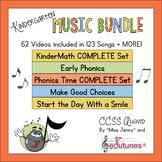 Kindergarten Beginning of the Year Music Bundle