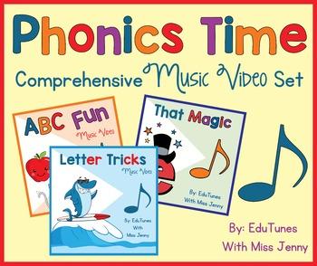 Kindergarten Music and Videos BUNDLE