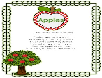 "Kindergarten Beginning of the Year Song: ""Apples,"" by Deed"