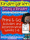 Center For Collaborative Classroom - Being a Reader - Week