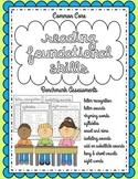 Kindergarten Benchmark Assessments: Common Core Reading Foundational Skills