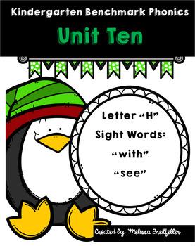 Kindergarten Benchmark Literacy Phonics Unit 10