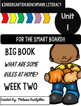 Kindergarten Benchmark Literacy Unit 1 Week 2