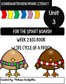 Kindergarten Benchmark Literacy Unit 3 Week 2
