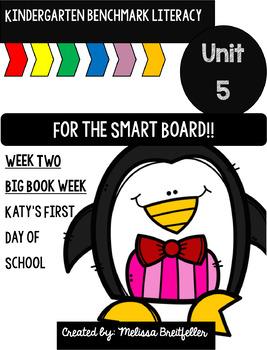 Kindergarten Benchmark Literacy Unit 5 Week 2