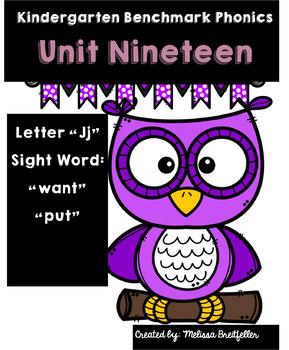 Kindergarten Benchmark Phonics Unit 19