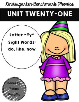 Kindergarten Benchmark Phonics Unit 21