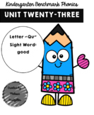 Kindergarten Benchmark Phonics Unit 23