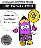 Kindergarten Benchmark Phonics Unit 24