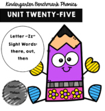 Kindergarten Benchmark Phonics Unit 25