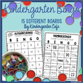 Kindergarten Bingo Games!