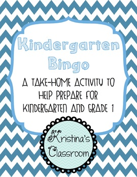 Kindergarten Bingo Home Connection