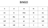 Kindergarten Bingo Using the Fry Sight Word List