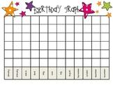 Kindergarten Birthday Graph