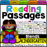 Kindergarten Blend Reading Passages