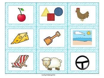 Kindergarten Blends and Digraphs