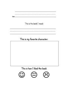 easy book report for kindergarten This pin was discovered by jaime kelly knieper discover (and save) your own pins on pinterest.