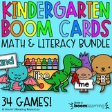 Kindergarten Boom Cards™ Bundle for Distance Learning