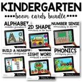 Kindergarten Boom Cards™ Monthly GROWING BUNDLE