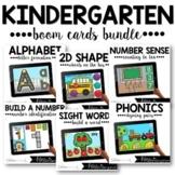 Kindergarten Boom Cards™ Monthly GROWING BUNDLE