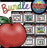 Kindergarten Boom Cards™ September BUNDLE - Apples Back to