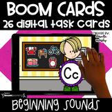Kindergarten Boom Cards  l Beginning Sounds Distance Learning