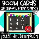 Kindergarten Boom Cards  l Letter Discrimination Distance