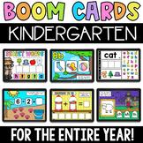 Kindergarten Digital Boom Learning Games - Math and Litera