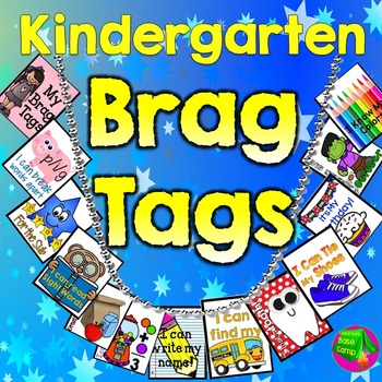 Kindergarten Brag Tags