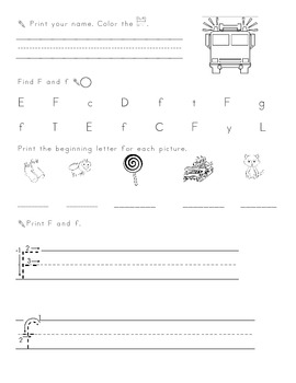Brain Workout printable morning work